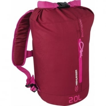 Highlander Outdoor Rockhopper 20 - Burgundy/Pink