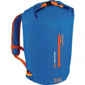 Highlander Outdoor Rockhopper 30 Rucksack - Blue/Orange