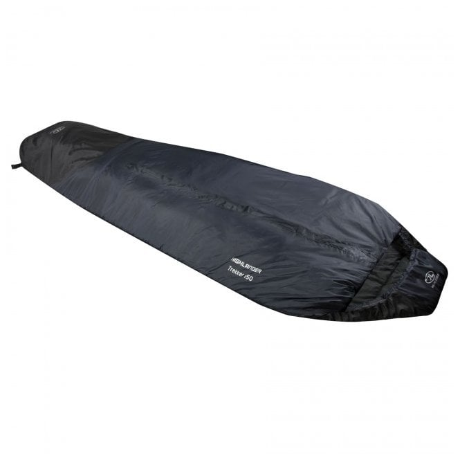 Highlander Outdoor Trekker 150 Sleeping Bag - Charcoal