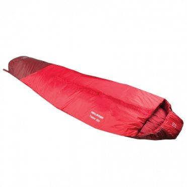 Highlander Outdoor Trekker 250 Sleeping Bag - Red