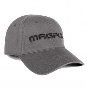 Magpul Core Cover Wordmark Low Crown Stretch-Fit Cap - Grey