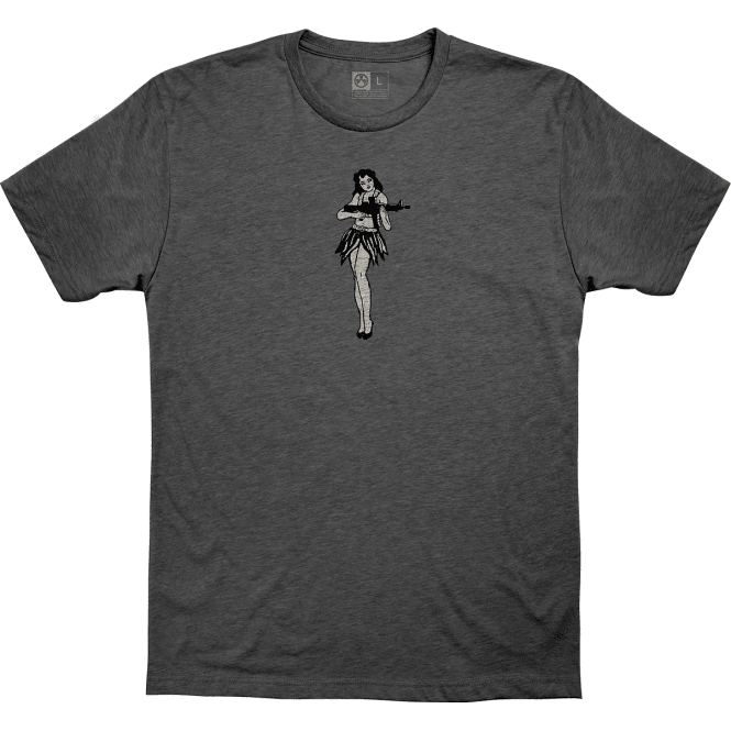 Magpul Hula Girl T-Shirt - Charcoal Grey