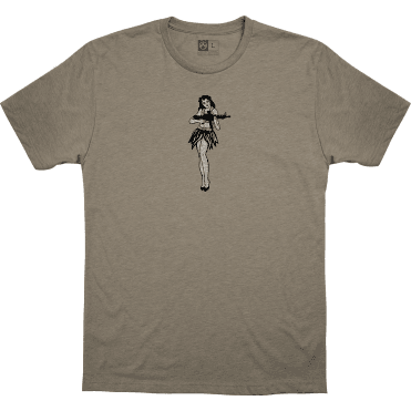 Magpul Hula Girl T-Shirt - Stone Grey