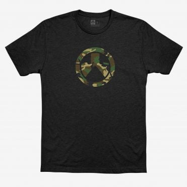 Magpul Woodland Camo Icon T-Shirt - Black