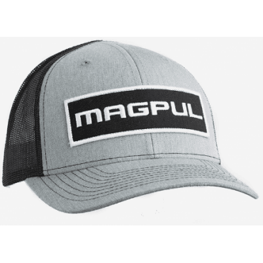 Magpul Wordmark Patch Trucker Cap - Grey / Black
