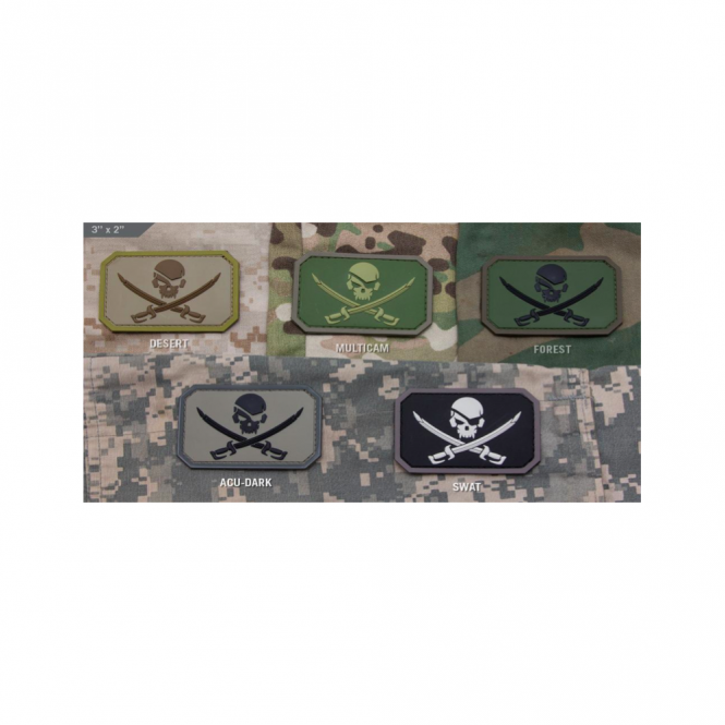 Mil-Spec Monkey MSM Pirate Skull PVC - Multicam