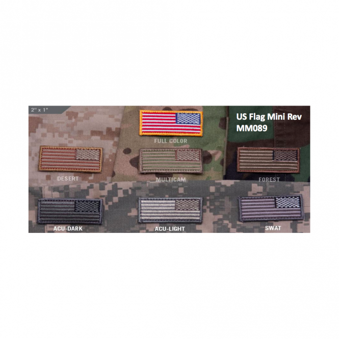 Mil-Spec Monkey MSM US Flag Mini Rev - Color