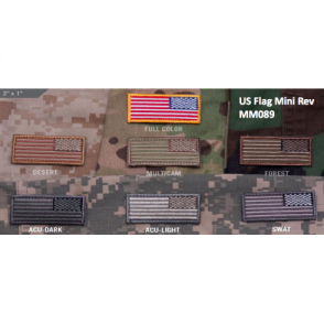 MSM US Flag Mini Rev - Desert