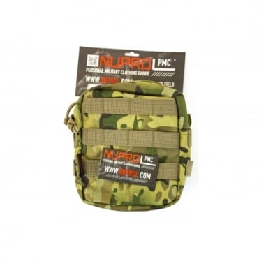 NP PMC Medium Zipped Util Pouch - NP Camo