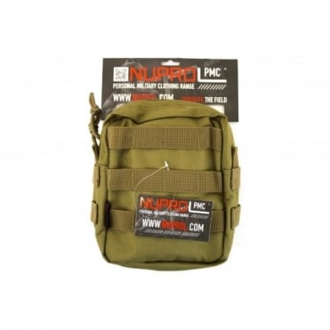 NP PMC Medium Zipped Util Pouch - Tan