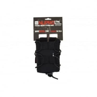 NP PMC Rifle Open Top Pouch - Black