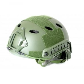 Nuprol Fast Railed Helmet - Green