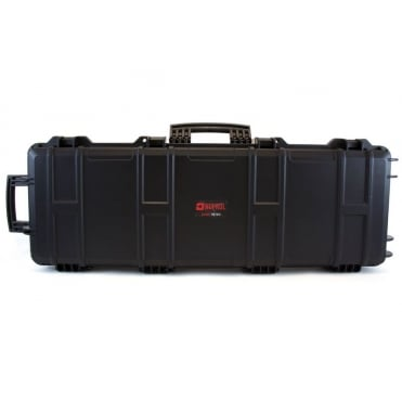 Nuprol Large Rifle Hard Case with Pick and Pluck Foam - Black