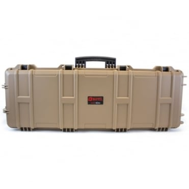 Nuprol Large Rifle Hard Case with Pick and Pluck Foam - Tan