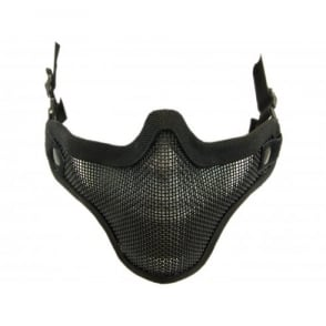 Nuprol Mesh Lower Face Shield V1 - BLACK