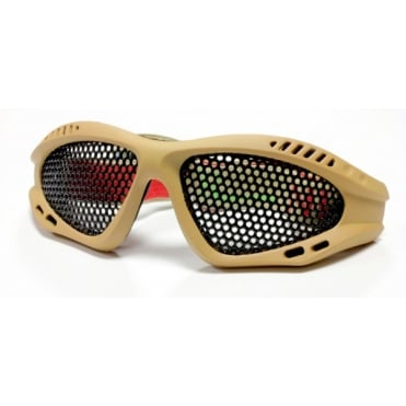 Nuprol Mesh Shades Eye Protection Tan