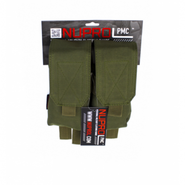 PMC M4 Double Mag Pouch - Green