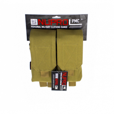PMC M4 Double Mag Pouch - Tan