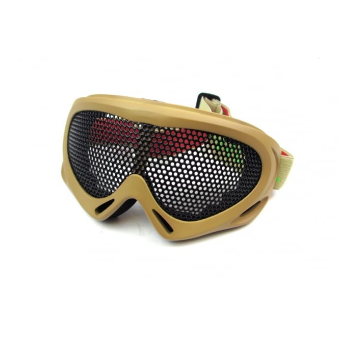 Nuprol Pro Mesh Eye Protection - Tan