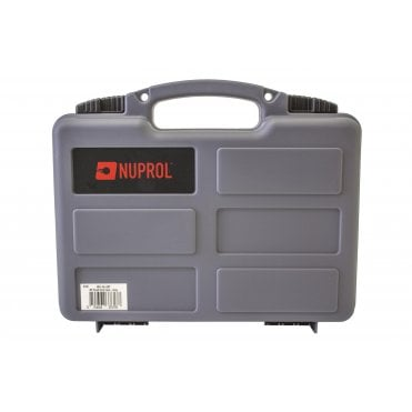 Nuprol Small Hard Case with Pick and Pluck Foam - Grey