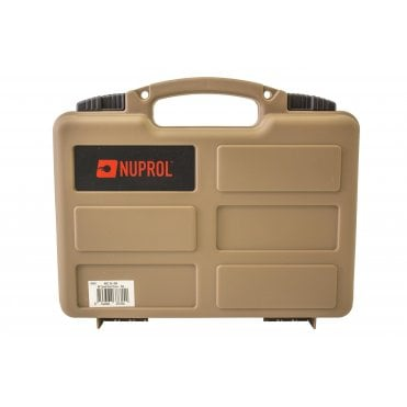 Nuprol Small Hard Case with Pick and Pluck Foam - Tan