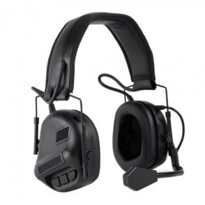 Nuprol Tactical Comms Headset Noise Reducing - Black