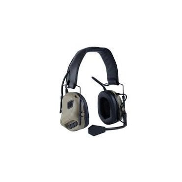 Nuprol Tactical Comms Headset Noise Reducing - Tan