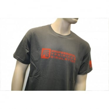 PTS LOGO T-SHIRT GRAY