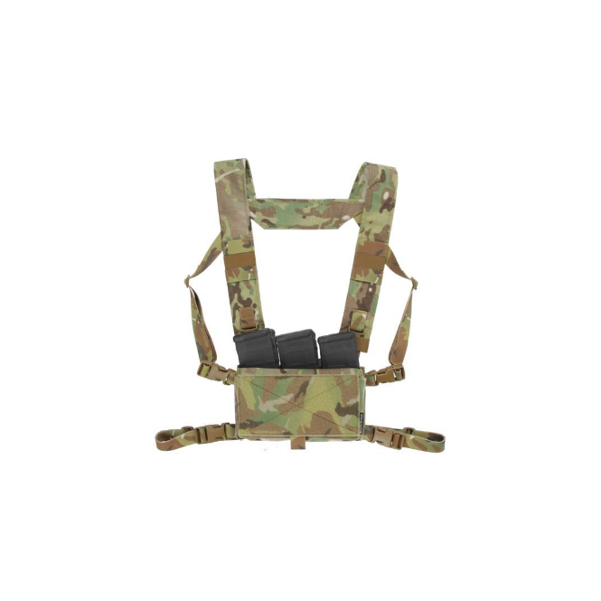 Spiritus Systems Mk 3 Micro Fight Chest Rig - Multicam
