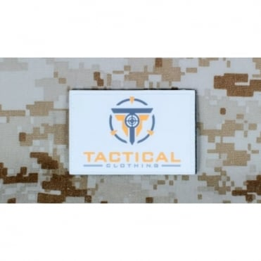 Tactical Clothing Large Patch - White