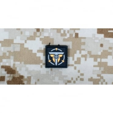 Tactical Clothing Small Patch - Black