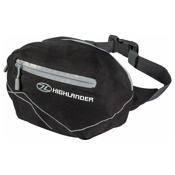 Highlander Outdoor Tor 4 Waist Pack Black