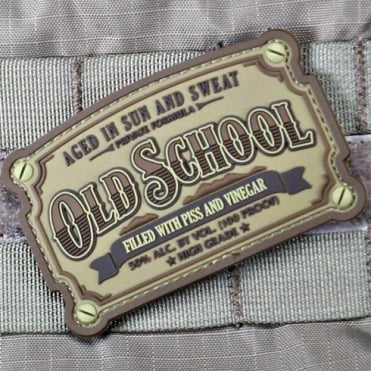 Violent Little Machine Shop VLMS Old School PVC Morale Patch