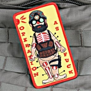 Violent Little Machine Shop VLMS Operation as F**k Morale Patch