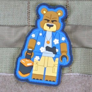 Violenty Little Machione Shop Creasy Bear Brick Operator Morale Patch