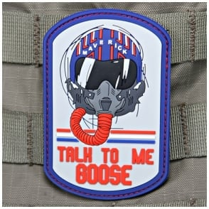 VLMS Talk To Me Goose Top Gun Patch Full Colour