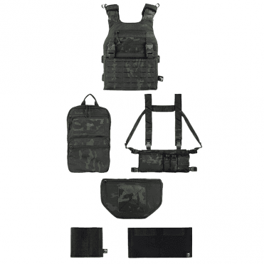 Viper Tactical VX Operator Vest Package DMR Set - Vcam Black