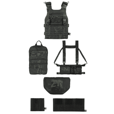 Viper Tactical VX Operator Vest Package Rifle Set - Vcam Black
