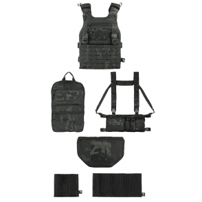 Viper Tactical VX Operator Vest Package SMG Set - Vcam Black