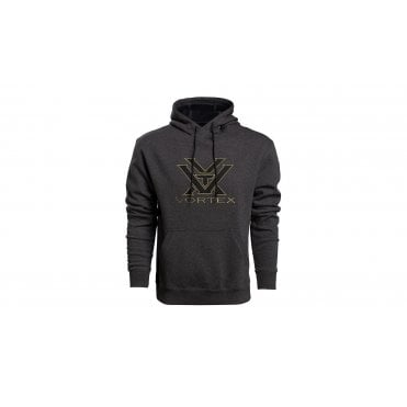 Vortex Optics Comfort Hoodie Charcoal Heather