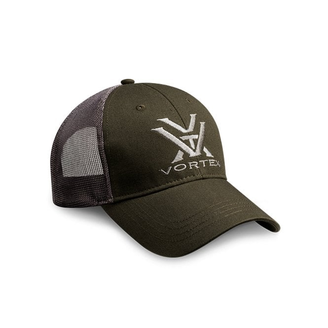 Vortex Optics Green & Grey Mesh Cap
