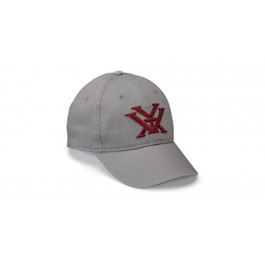 Vortex Optics Women's Maroon Logo Cap - Grey