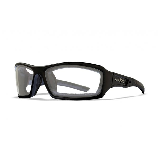 Wiley X ECHO Clear Lens / Gloss Black Frame