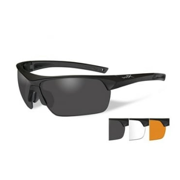 Wiley X Guard Advanced Smoke/Clear/Rust / Matt Black Frame