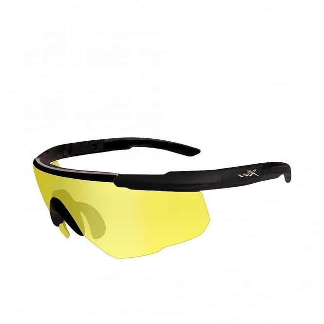 Wiley X SABER ADVANCED - Pale Yellow Lens / Matte Black Frame w/Micro Fiber Bag
