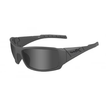 Wiley X Twisted Smoke Grey / Strealth Grey Frame
