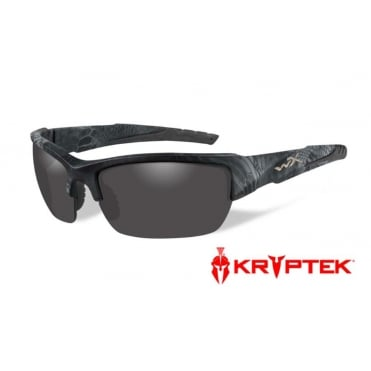 Wiley X Valor Polarized Smoke Grey / Kryptex Typhon Frame